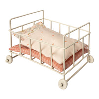 Maileg Metal Baby cot_Micro