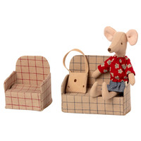Maileg House of miniature Couch Mouse