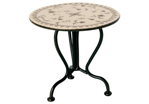 Maileg Maileg House of miniature Vintage tea table micro anthracite
