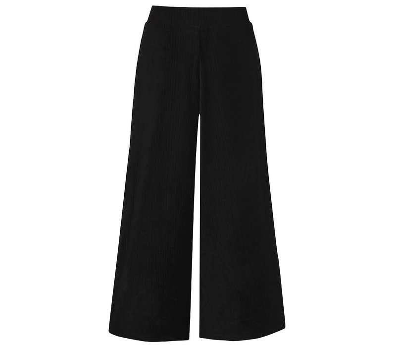 D-XEL _SURI TROUSERS_BLACK_WIDE LEG