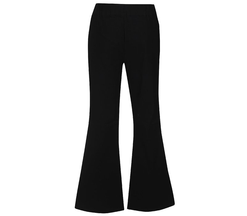D-XEL _MONA TWILL TROUSERS_BLACK