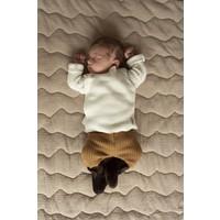 Copy of Nanami Newborn shoe Ribvelvet Sand