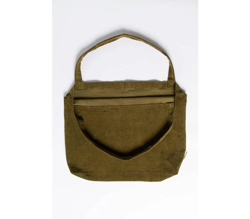 Studio Noos Rib Mom Bag Green