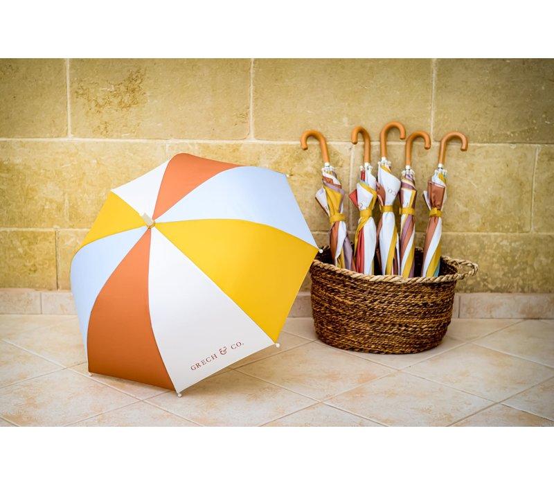 Grech & Co Sustainbale Umbrella's Light Blue