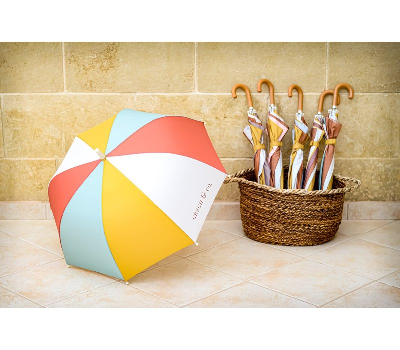 Grech & Co Sustainbale Umbrella's Rust