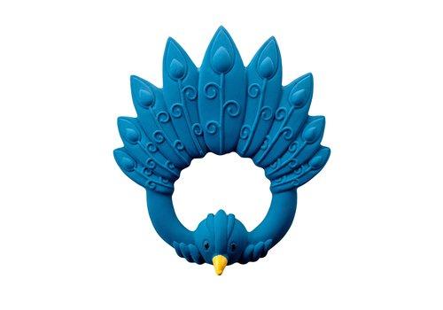 Natruba Natruba Teether Peacock Blue