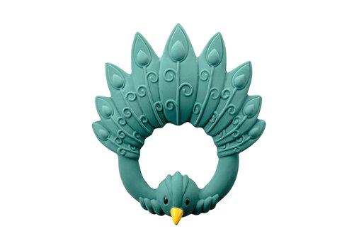 Natruba Natruba Teether Peacock Green