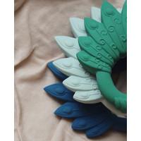 Natruba Teether Peacock Green