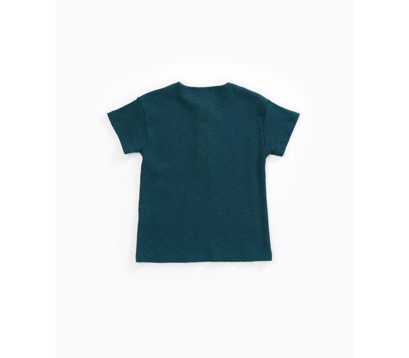 Play Up Flamé RIB T-shirt blue