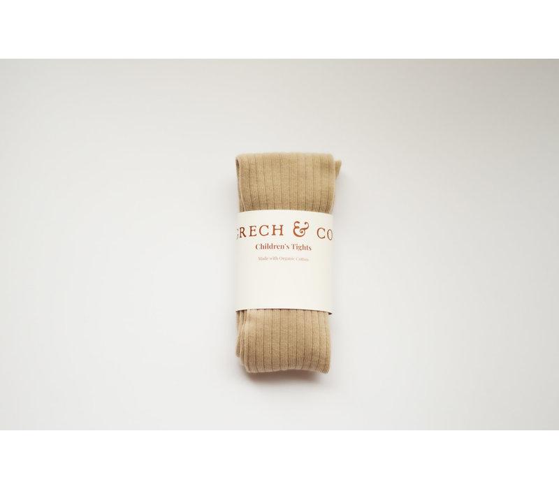 Grech & Co _ Children's Organic Cotton Tights_Buff