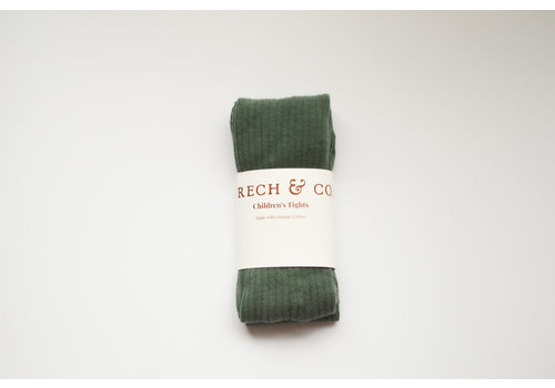 Grech & Co Grech & Co _ Children's Organic Cotton Knee Higt Socks_Ferm