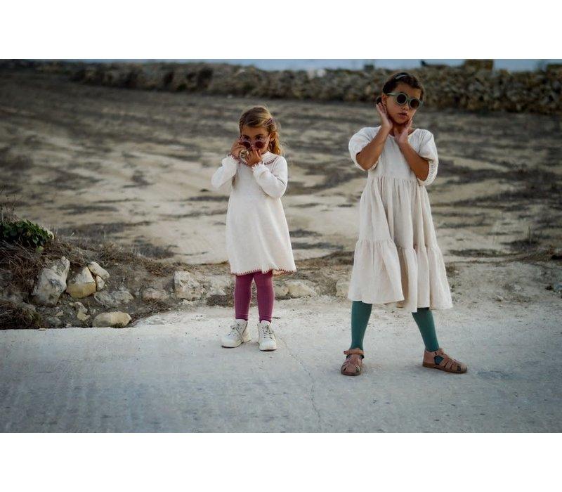 Grech & Co _ Children's Organic Cotton Knee Higt Socks_Ferm