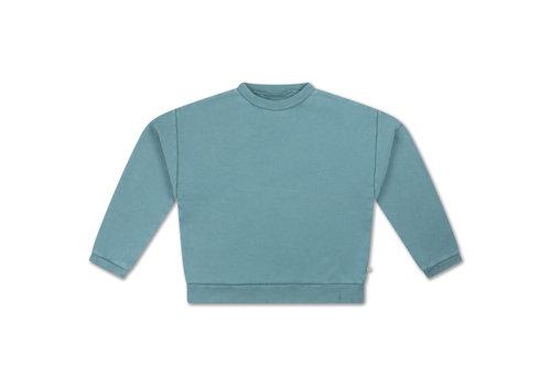Repose AMS Repose AMS 12. Crewneck Sweater Greyish Sky Blue