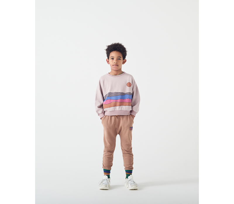 Wander & Wonder Desert Print Sweatshirt Mauve