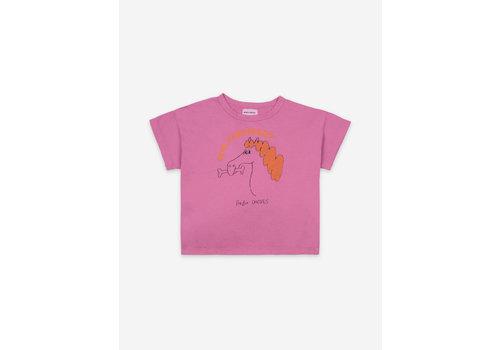 Bobo Choses Bobo Choses Fetching Horse Short Sleeve T-Shirt Kids