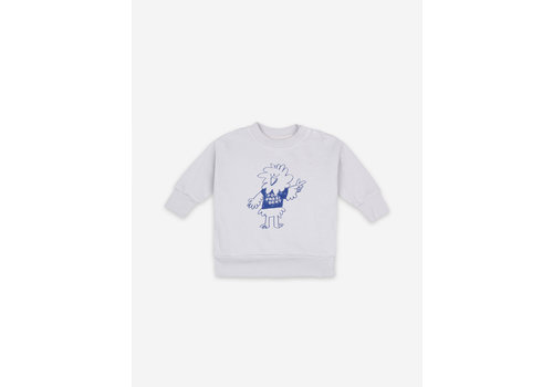 Bobo Choses Bobo Choses Bird Says Yes Sweatshirt
