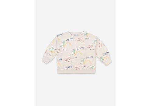 Bobo Choses Bobo Choses  Playground All Over Terry Fleece Sweatshirt