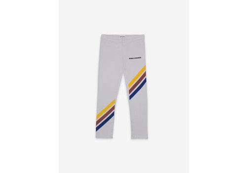 Bobo Choses Bobo Choses Crosswise Stripes Grey Leggings