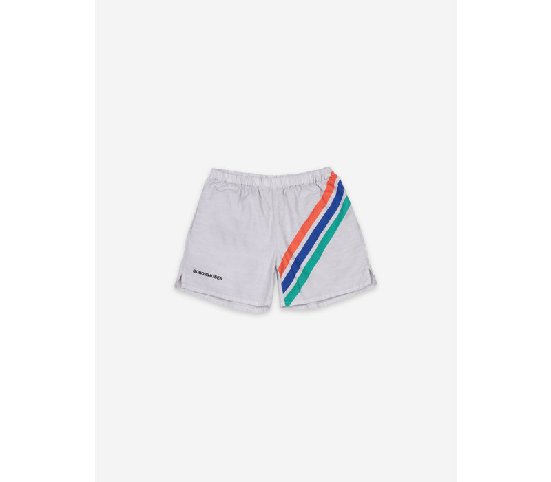 Bobo Choses  Crosswise Stripes Woven Shorts