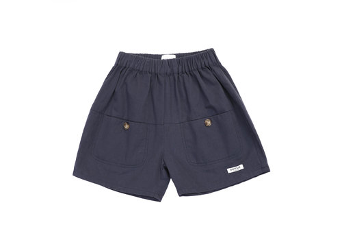 Donsje Donsje Kenneth Shorts Faded Navy
