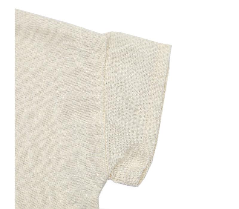 Donsje Ava Blouse Antique White