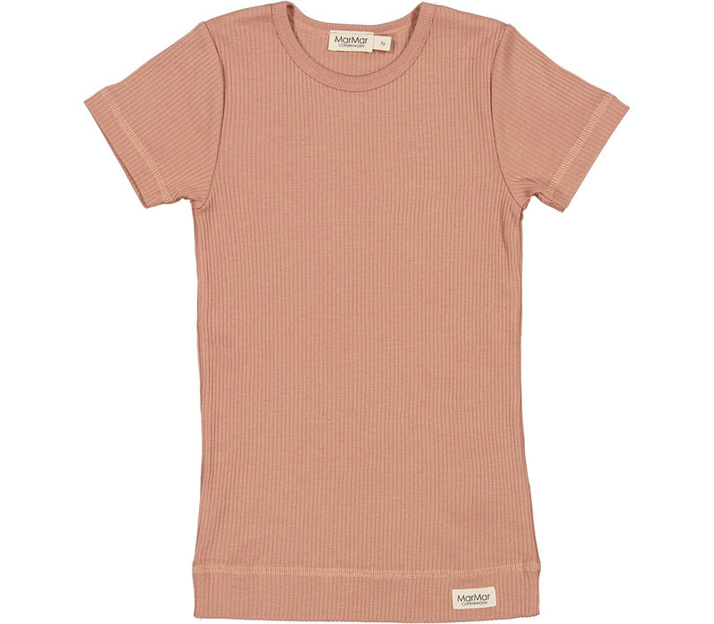 MarMar Copenhagen Plain Tee SS Modal Rose Brown