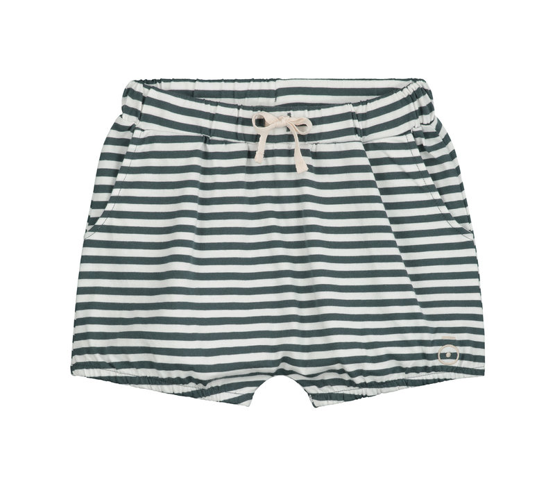 Gray Label Puffy Shorts Blue Grey / Off White