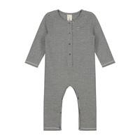 Gray Label Baby Playsuit Nearly Black / Cream