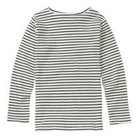 Mingo Top Stripe Black White