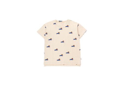 TINYCOTTONS TINYCOTTONS_SS21-006_DOGGY PADDLE TEE
