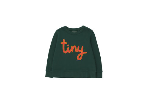 TINYCOTTONS TINYCOTTONS_SS21-186_TINY SWEATSHIRT *ink blue/red*