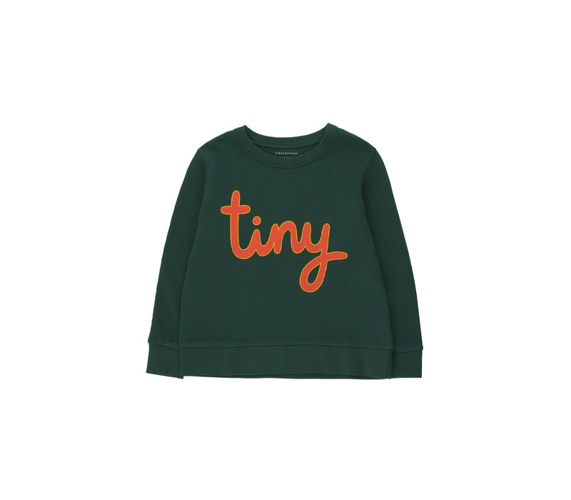 TINYCOTTONS_SS21-186_TINY SWEATSHIRT *ink blue/red*