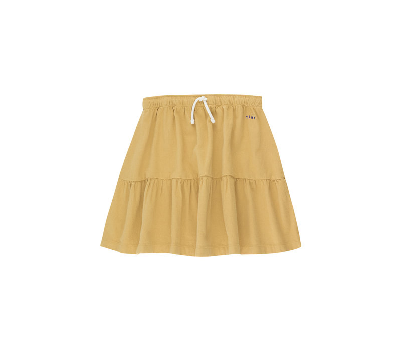 TINYCOTTONS_SS21-236_SOLID SHORT SKIRT *sand*