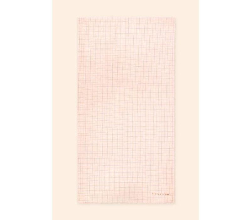 Copy of TINYCOTTONS_SS21-400 _MANIFESTO TOWEL *light cream/yellow*