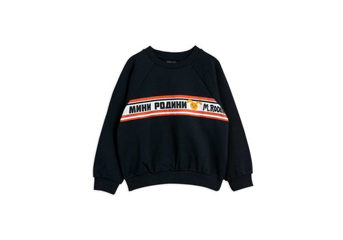 Mini Rodini Mini Rodini Moscow sweatshirt Black