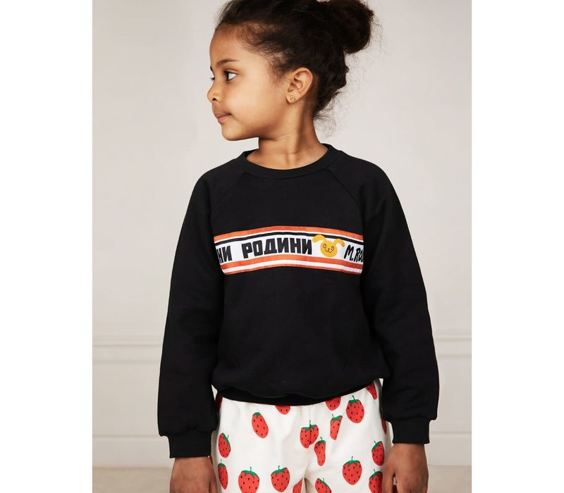 Mini Rodini Moscow sweatshirt Black