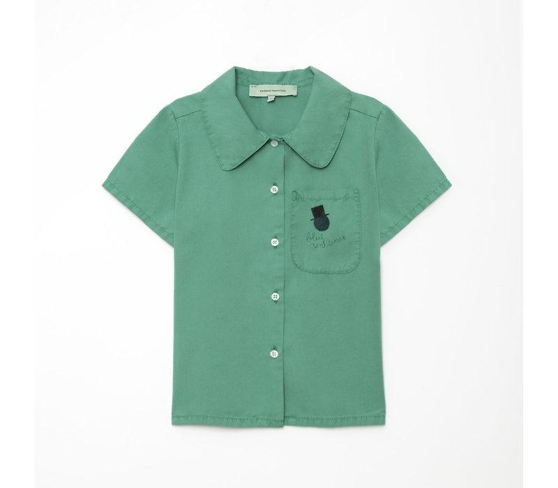 Weekend House Kids Gentleman Shirt Green