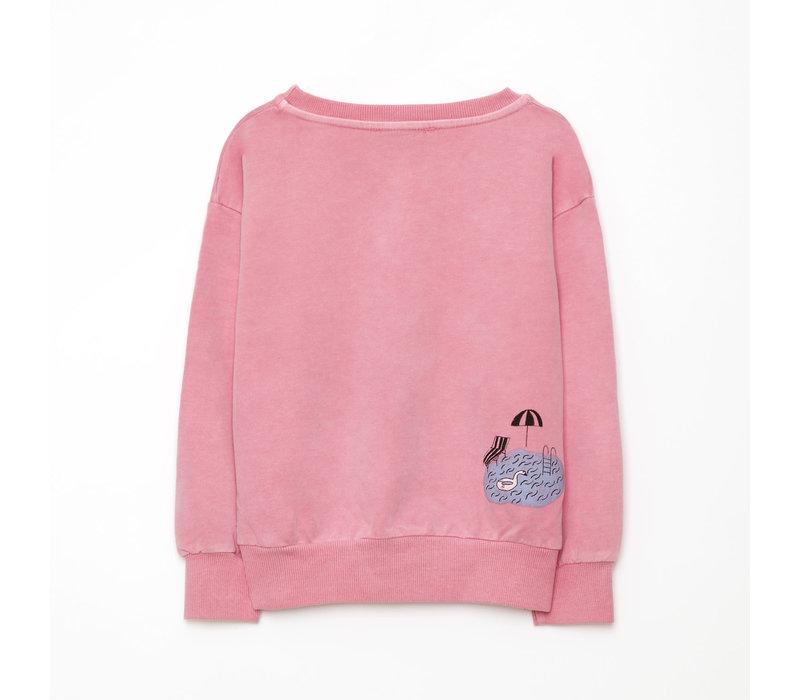 Weekend House Kids Pool Sweat shirt Pink