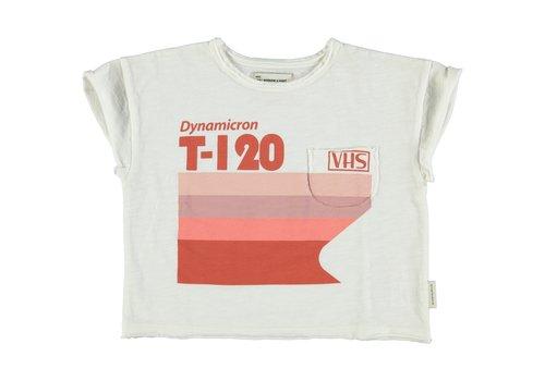 PIUPIUCHICK Piupiuchick T-shirt off white w/ multicolor print