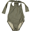PIUPIUCHICK Piupiuchick Swimsuit w/back bow taupe