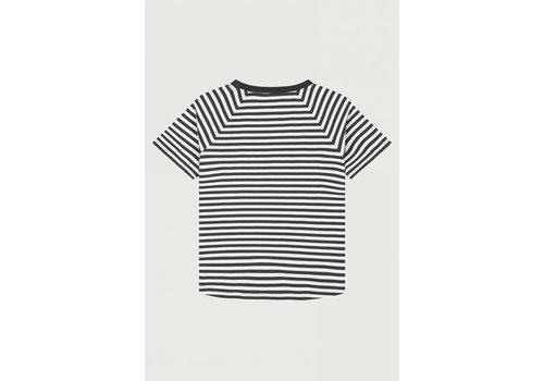 Gray Label Gray Label Crewneck Tee Nearly Black / Stripe