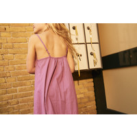 LONGLIVETHEQUEEN Wide Dress Purple