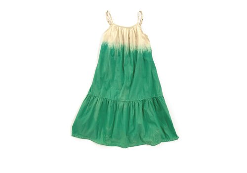 Long Live the Queen LONGLIVETHEQUEEN Wide Dress Green Dipdye