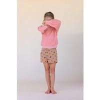 LONGLIVETHEQUEEN Shorts Tan Flower