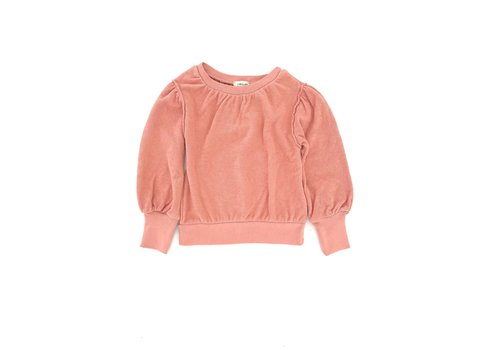 Long Live the Queen LONGLIVETHEQUEEN Puffed Sweater Rose