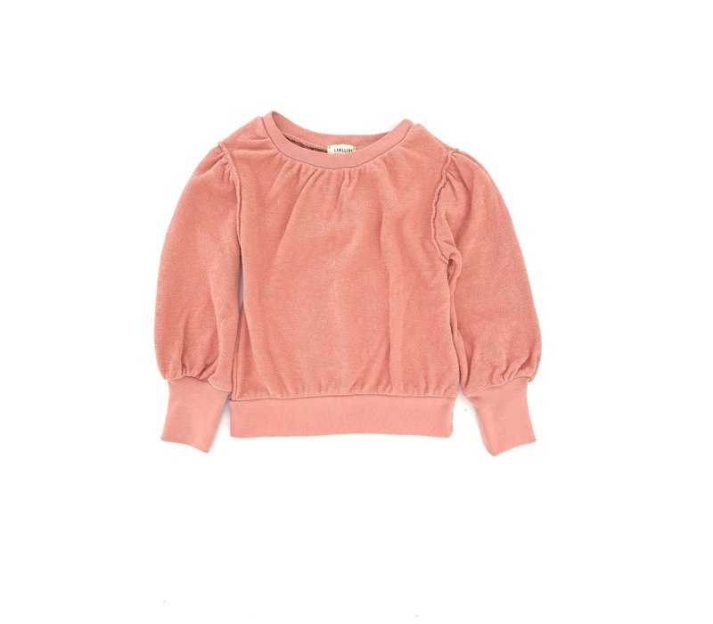 LONGLIVETHEQUEEN Puffed Sweater Rose