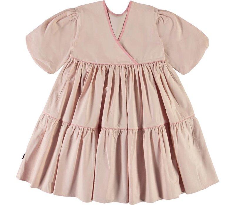Molo Woven dress Petal Blush