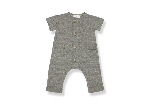 1+ IN THE FAMILY 1+ in the Family Enzo Jumpsuit anthracite