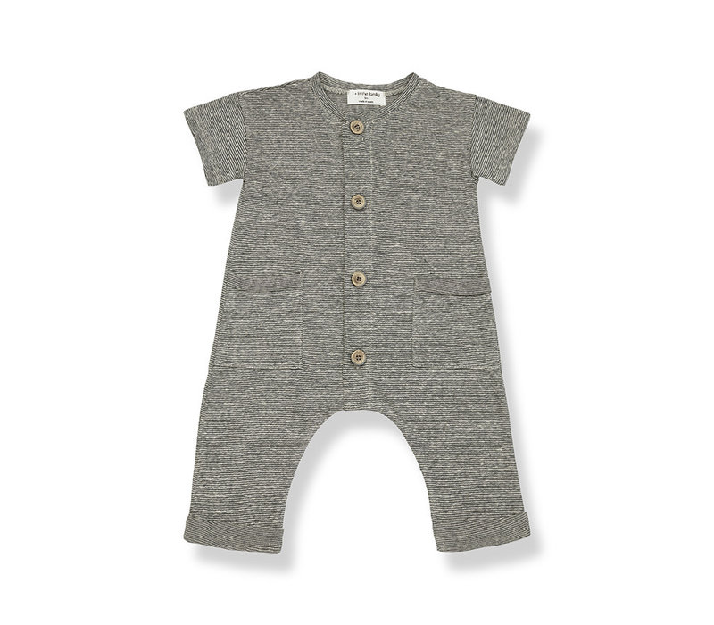 1+ in the Family Enzo Jumpsuit anthracite