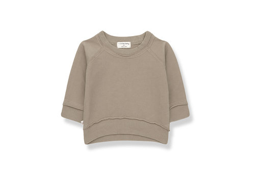 1+ IN THE FAMILY 1+ in the Family Tristan sweatshirt khaki